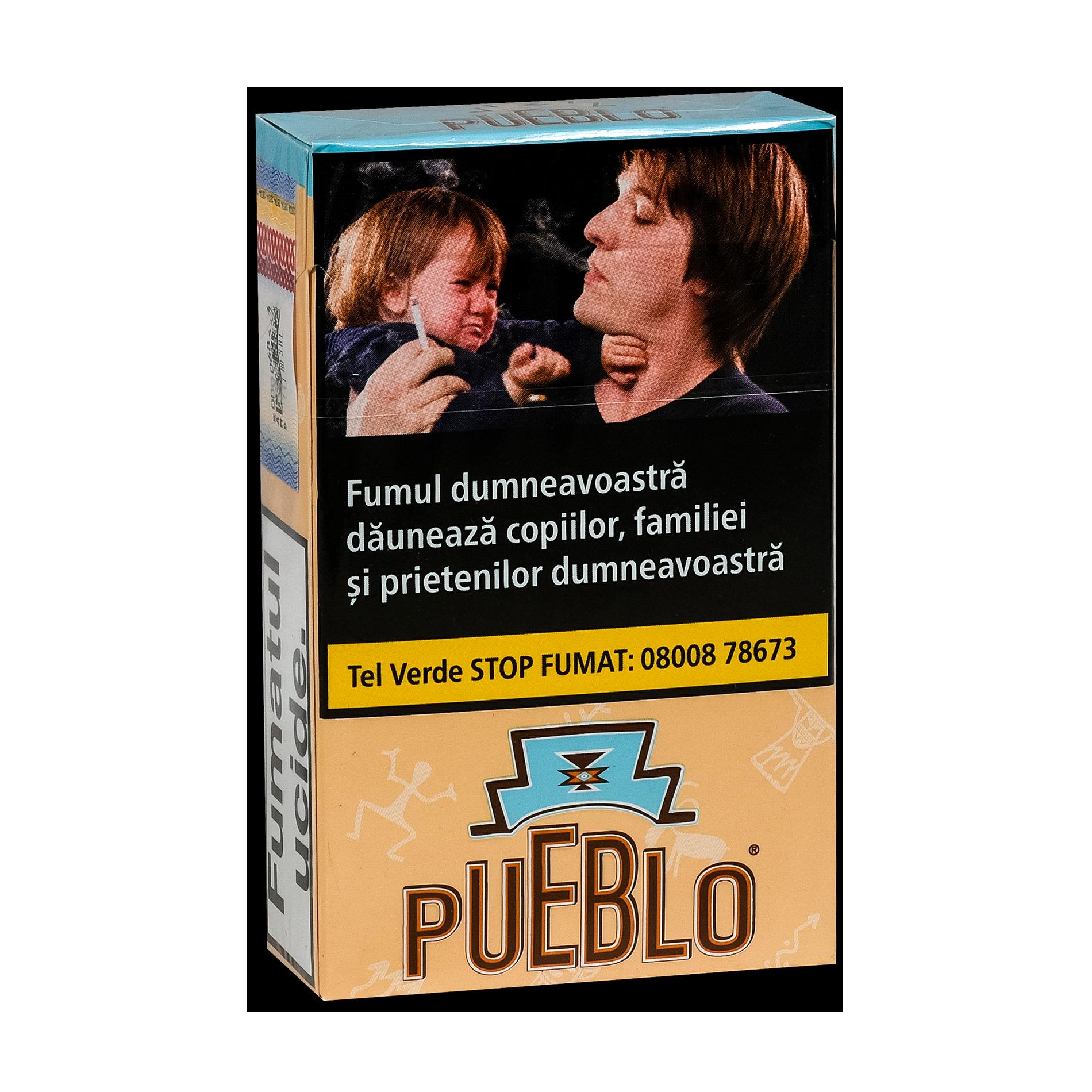 Noile tigarete Pueblo